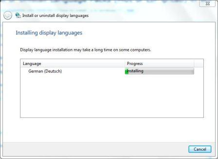 display-languages-installation